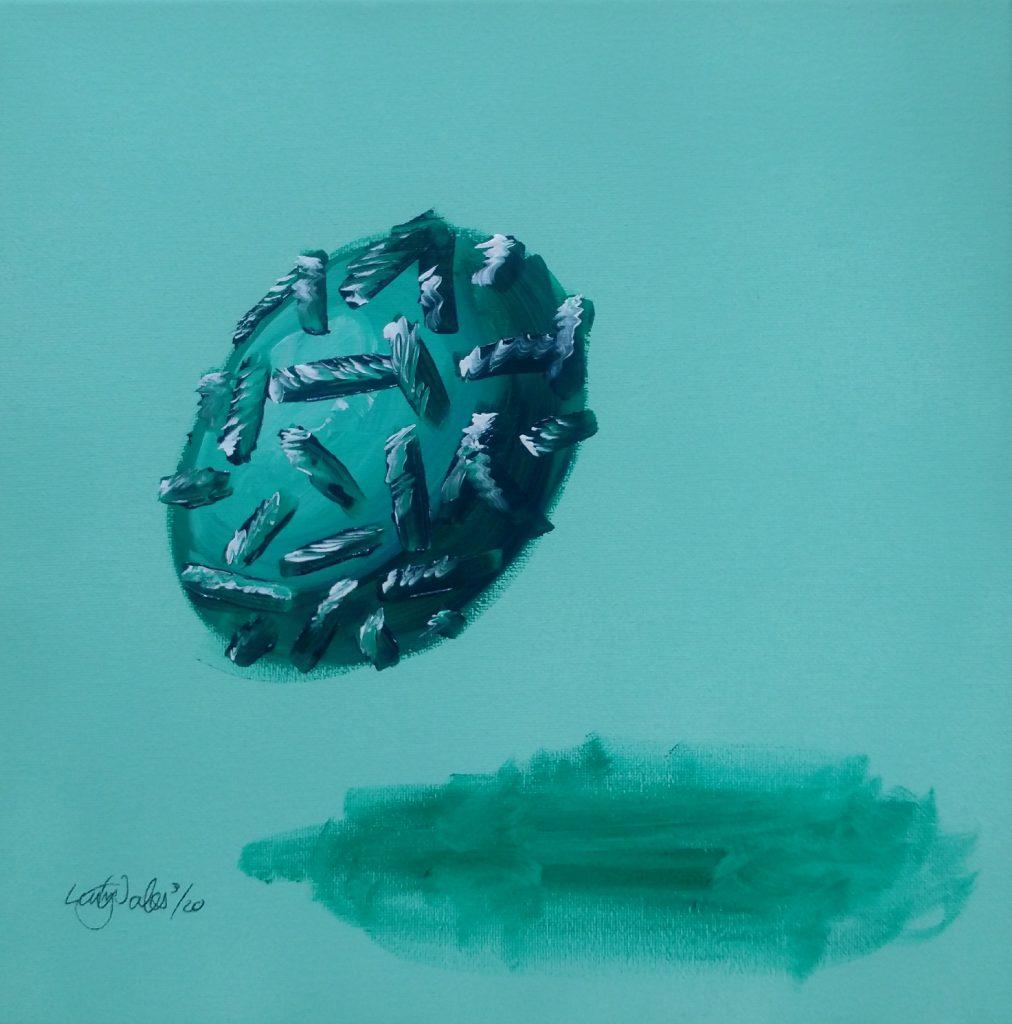 Artist representation of the Smallpox virus
