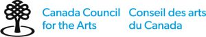 Logo for the Canada Council for the Arts/onseil des arts du Canada